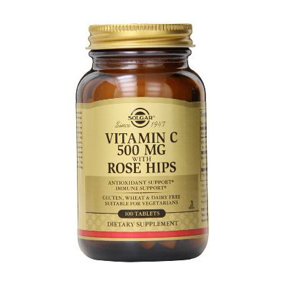 Solar Vitamine C500 Rose Hips 100 tablets