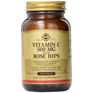 Solar Vitamine C500 Rose Hips 100 tablets