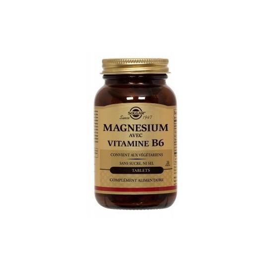Solgar Magnésium+B6 250 tablets