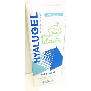 Hyalugel Gel buccal 1ere dents 20ml