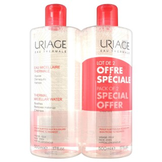 Uriage Eau Micellaire Thermale Lot 2 x 500 ml