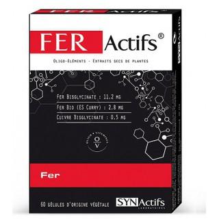 SYNACTIFS FERActifs 60 gélules