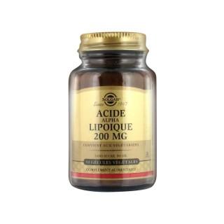 Solgar Acide Alpha Lipoïque 200 mg 50 Gélules Végétales