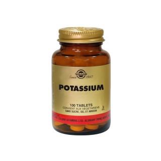Solgar Potassium 100 Comprimés