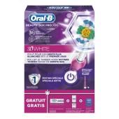 Oral B Coffret Brosse a dents Pro 700 Beauty Box 3D White
