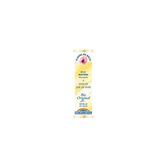 Moutarde / Mustard n°21 compte gouttes 20ml