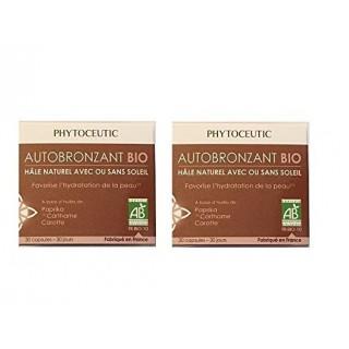 Phytoceutic Autobronzant Bio Lot 2X30 Capsules