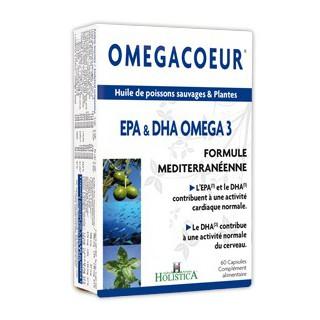 Holistica Omegacoeur 60 capsules