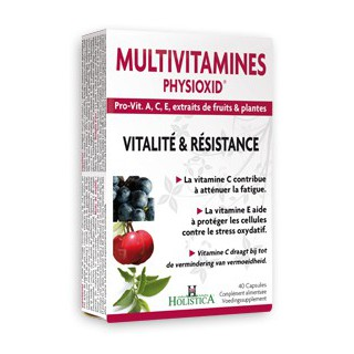 Holistica Multivitamines Physioxid 40capsules