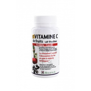 Holistica Vitamine C de fruits 60 comprimés