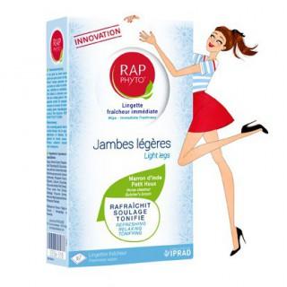 Rap Phyto Lingettes de Gel Fraîcheur Jambes légères x7