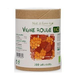 Nat&Form Vigne Rouge Bio 200 gélules