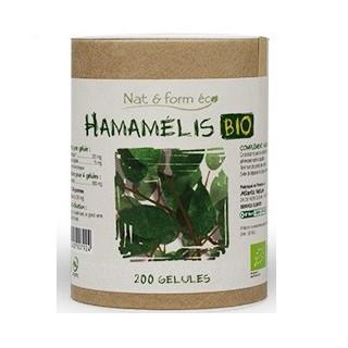 Nat&Form Hamamelis Bio 200 gélules