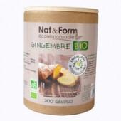 Nat&Form Gingembre Bio 200 gélules