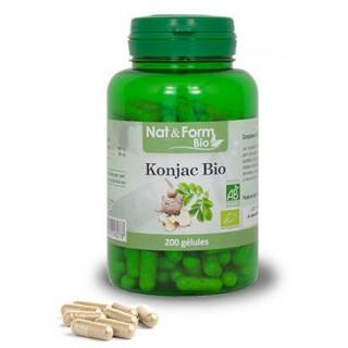 Nat&Form Konjac Bio 200 gélules