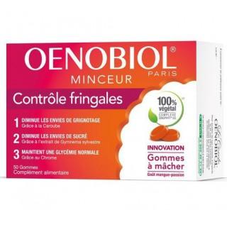 Oenobiol Minceur contrôle fringale Gommes goût mangue passion 50 unités