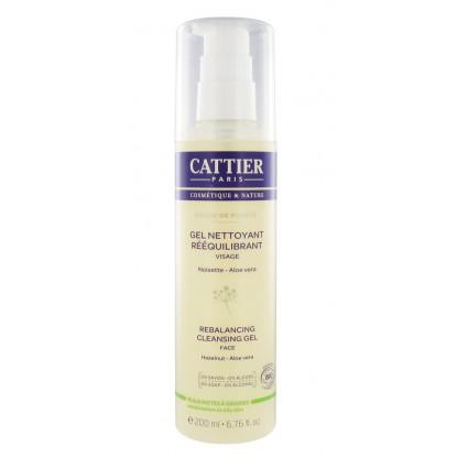 Cattier gel nettoyant rééquilibrant 200 ml