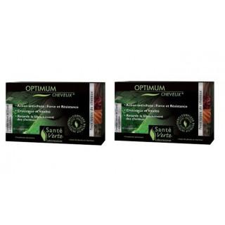 Santé verte Optimum cheveux 2x 60 Comprimés