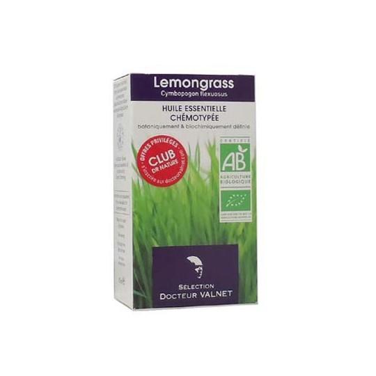 Lemongrass huile essentielle Valnet 10ml