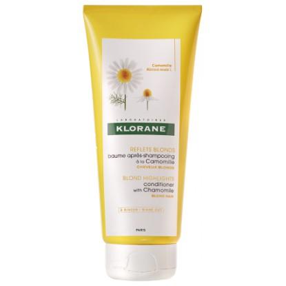 Klorane Baume Après shampooing Camomille Reflets blonds 200ml