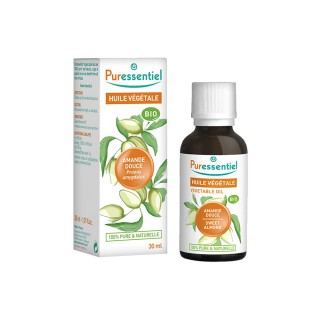 Puressentiel Huile Végétale Bio Amande Douce 30 ml
