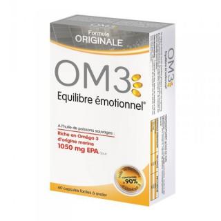 OM3 Équilibre Émotionnel 60 Capsules