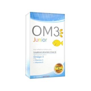 OM3 Junior Enfants Adolescents 60 Capsules