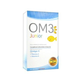 OM3 Junior Enfants Adolescents 60 Capsules