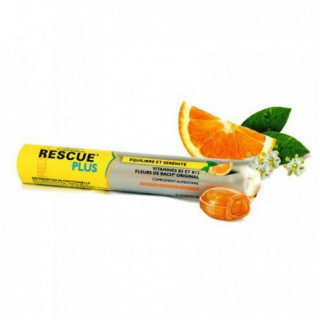 Bach Rescue Coeur Fondant Orange-Sureau 10 pastilles