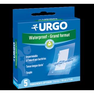 Urgo Waterproof grand format 5 pansements 10cmx7cm
