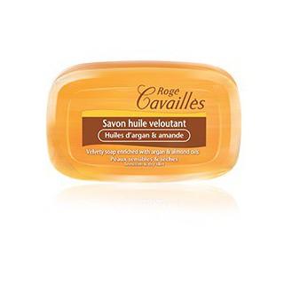 Rogé Cavailles Savon huile veloutant Argan amande 115gr