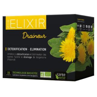 Sante verte Elexir Bio Draneur 15x10ml