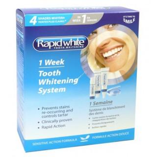 RapidWhite Système de Blanchiment des Dents en 1 semaine