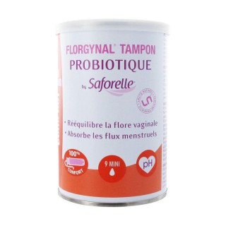 Saforelle Florgynal Tampon Applicateur Compact 9 Mini