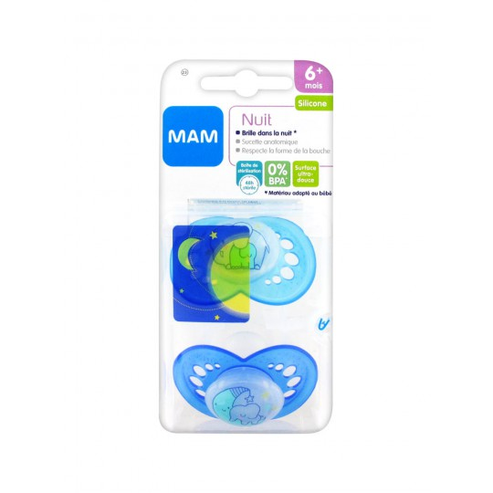 Mam Anatomical Silicon pacifier