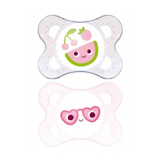 Mam Pacifier0/6months Anatomical silicon package